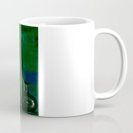 glass is green Coffee Mug