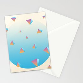 Scattered Stationery Cards