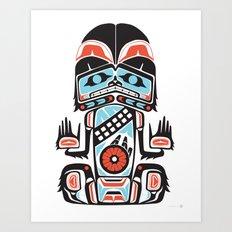 HAIRY MAN - Alliance Is Rebellion - wars, star, chewbacca Art Print