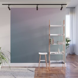 WATER WALL - Minimal Plain Soft Mood Color Blend Prints Wall Mural