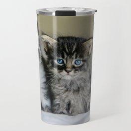 Cats Make Me Happy So Much Travel Mug