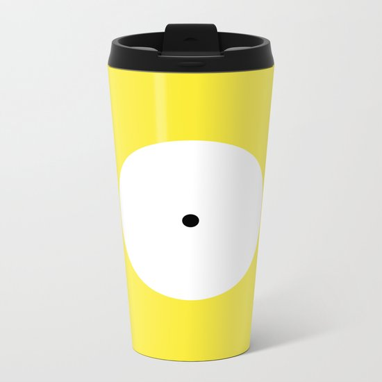 This is the point Metal Travel Mug