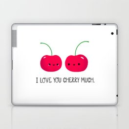 I Love You Cherry Much Laptop & iPad Skin