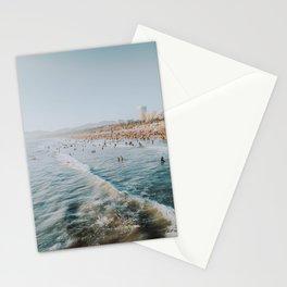 santa monica v / california Stationery Cards