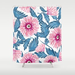 Gerbera Bloom Shower Curtain