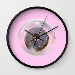Bubble Donuts Wall Clock