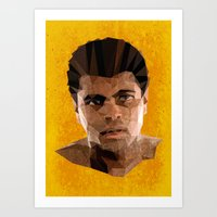 ali Art Prints featuring Ali by Patrick Anthony Leverton