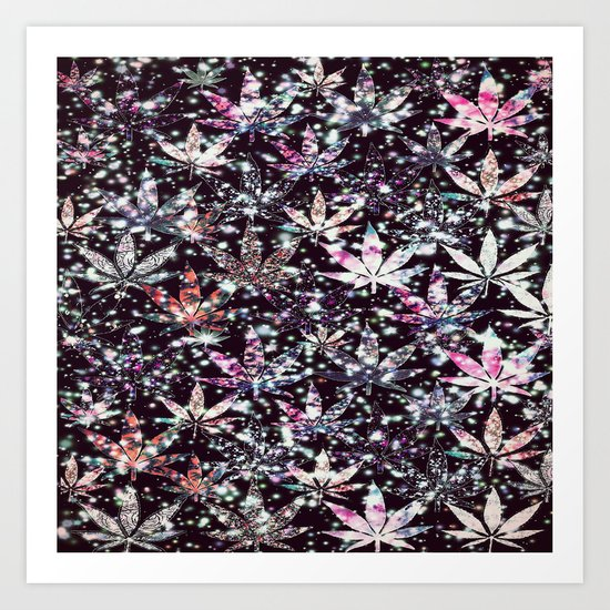 gorgeous weed-126 Art Print