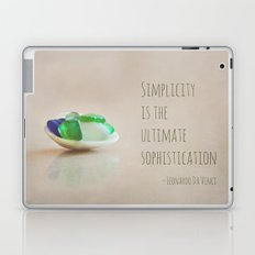 Simplicity is the Ultimate Sophistication Laptop & iPad Skin