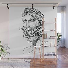 Greek Renaissance Octopus Wall Mural