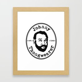 Johnny Thongwearer Framed Art Print