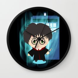 the boy who time traveled Wall Clock