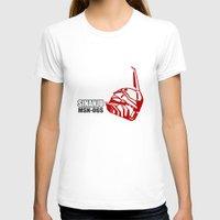 gundam T-shirts featuring Mobile Suit Gundam Unicorn - Sinanju by Nanico