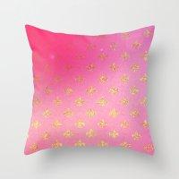 fleur de lis Throw Pillows featuring Fleur de Lis by Mr and Mrs Quirynen