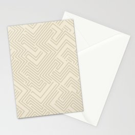 Abstract Maze #2 Stationery Cards