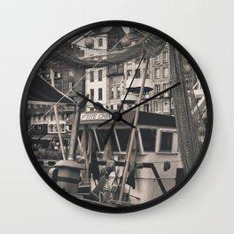 Harbor Le Havre France Wall Clock