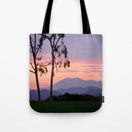 Saddleback Sunset Tote Bag