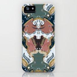 ss16 /// Handmade Arabesque I iPhone Case