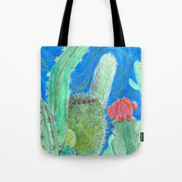 Cactus relationships Tote Bag