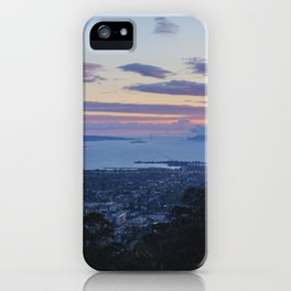 Magic Hour from UC Berkeley view of SF iPhone Case