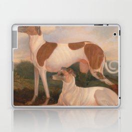 oil paintings of greyhounds Laptop & iPad Skin