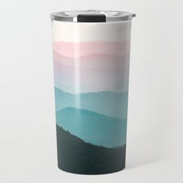 Smoky Mountain National Park Sunset Layers III - Nature Photography Travel Mug