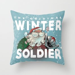 The Original Winter Soldier Throw Pillow