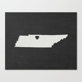 Tennesse Love Canvas Print
