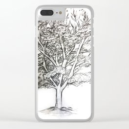 Dutchess Tree Clear iPhone Case