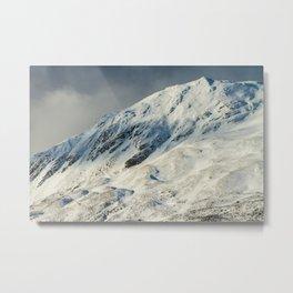 Ben Vrackie in winter, Scotland Metal Print