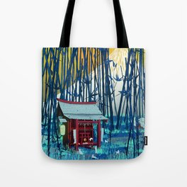 On my way to Mount Fuji Tote Bag