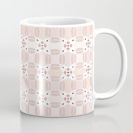 Circular Pink Coffee Mug