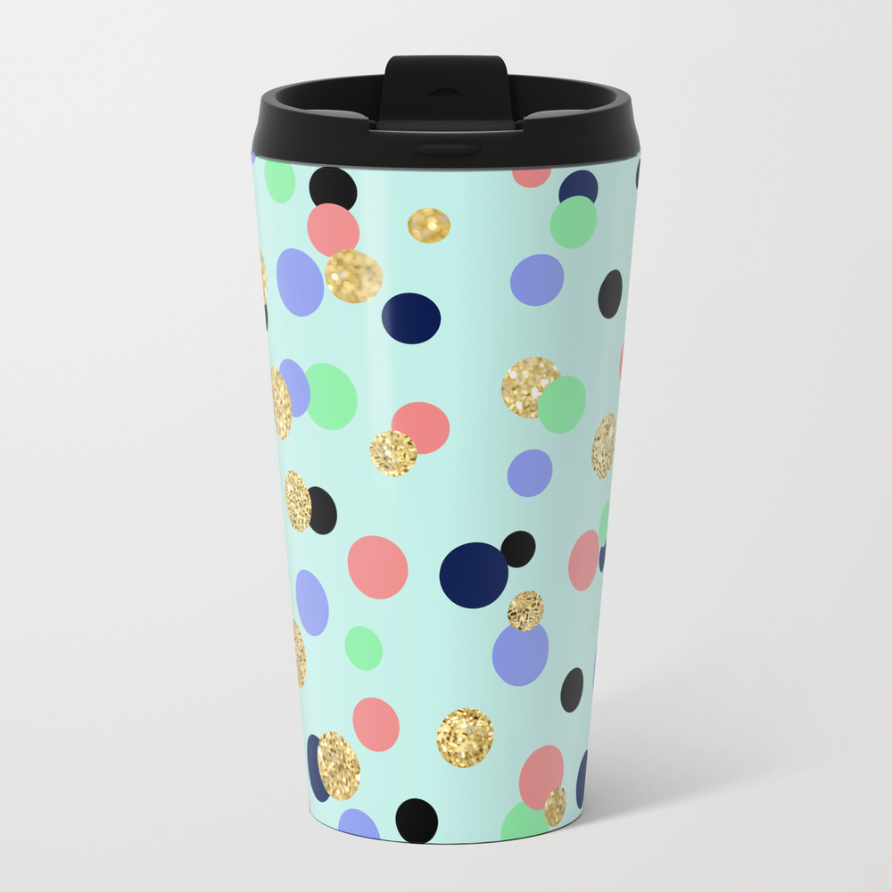 Pretty Polka Dots Travel Mug TRM8900890