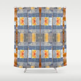 Clean Slate (Going Down) Shower Curtain