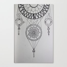 Dream Scale Canvas Print
