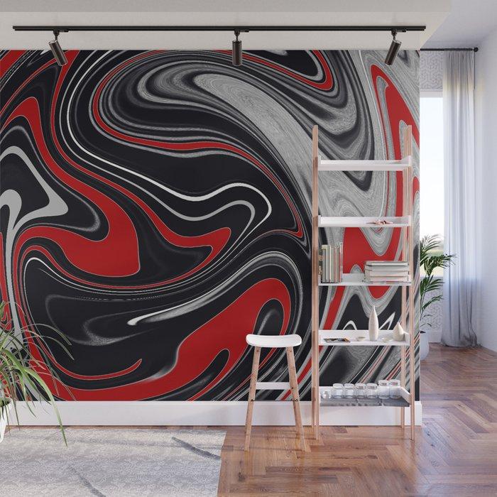 Detroit Agate Wall Mural