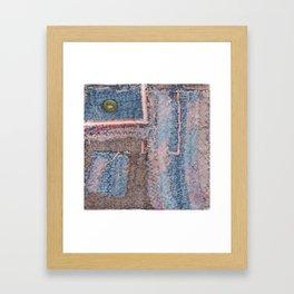 Dine Pillow 1 Framed Art Print