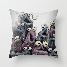 Yip Yip Throw Pillow