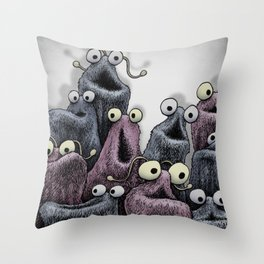 Yip Yip Throw Pillow
