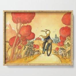 Bike Adventure Serving Tray