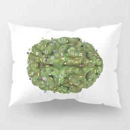 Circuit brain Pillow Sham