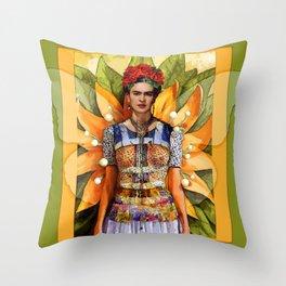 FRIDA KAHLO MARIPOSA Throw Pillow