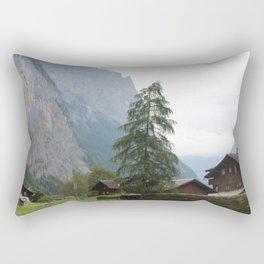 Switzerland Alps View Rectangular Pillow