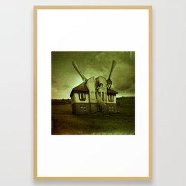 Home for Dinner I Framed Art Print
