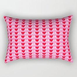 Love Plus One Rectangular Pillow