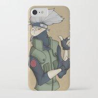kakashi iPhone & iPod Cases featuring Kakashi by Salva Laserna
