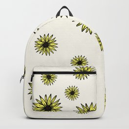 Yellow Sunflower Backpack
