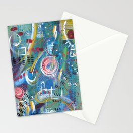 Beyond Time Stationery Cards
