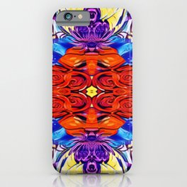 Roses are Red Mandala Style iPhone Case