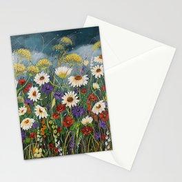 Stormy field. Stationery Cards
